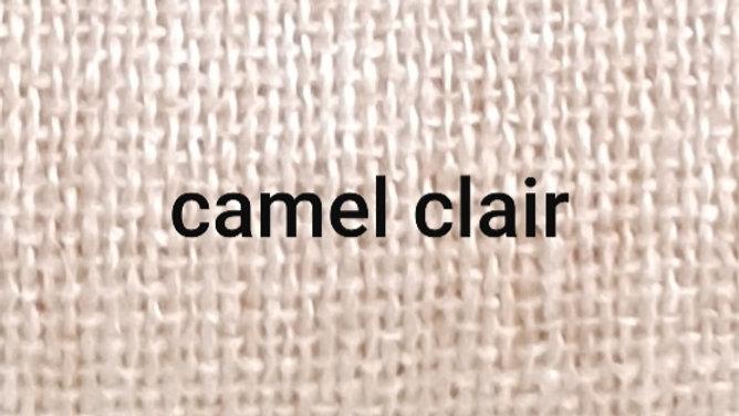 Camel chiné blanc XL 120x230 CM