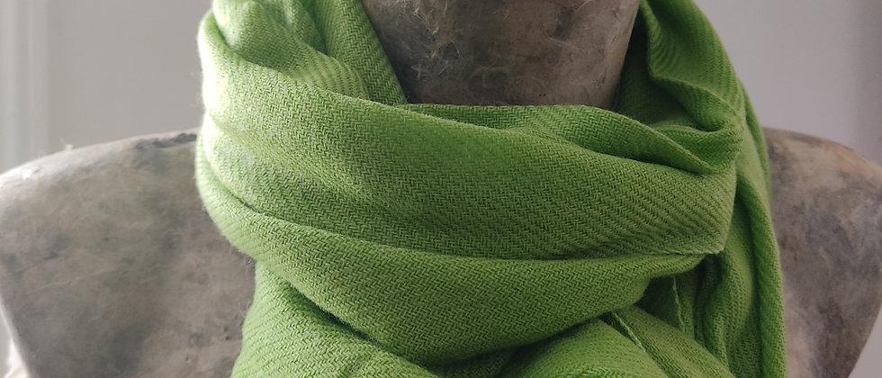 Étole vert pistache