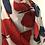Thumbnail: Grands papillons rouge et bleu