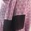 Thumbnail: Violet à imprimé géométrique