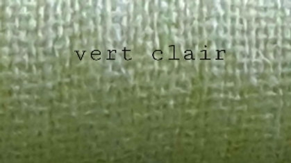 Vert claire uni 90x200 CM