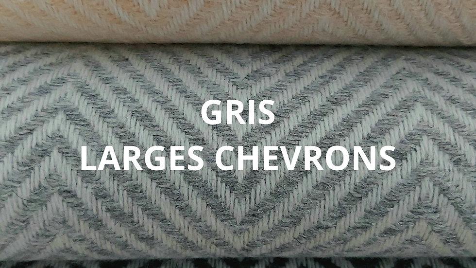 Plaid gris 130x250 CM