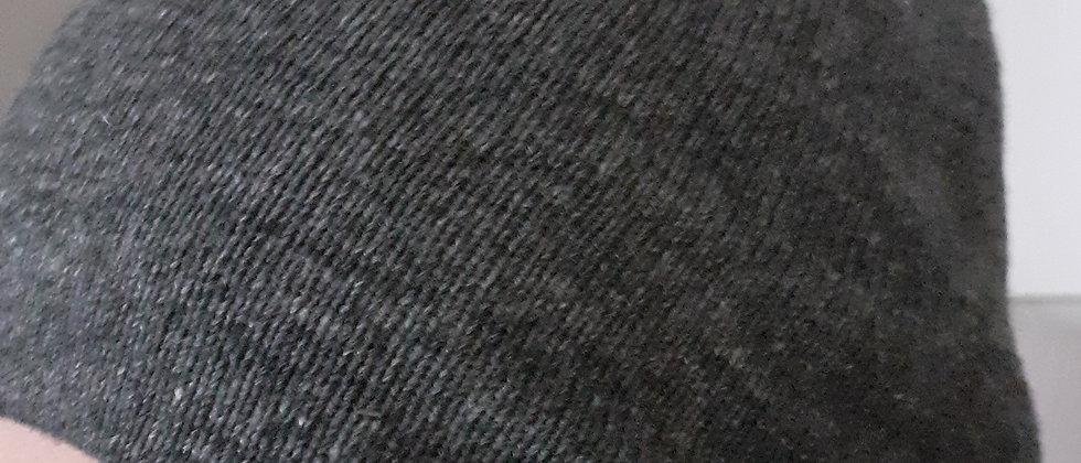 Bonnet gris double épaisseur