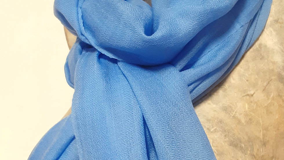 Etamine bleu 90x200 CM