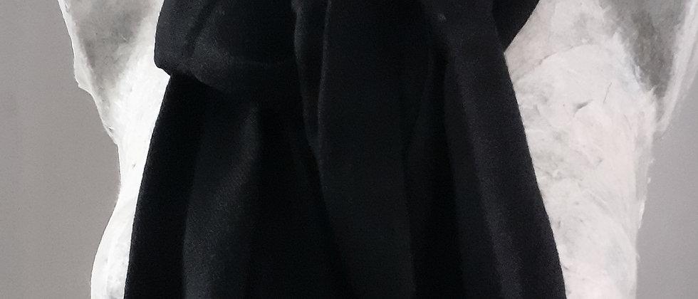 Étole noire uni