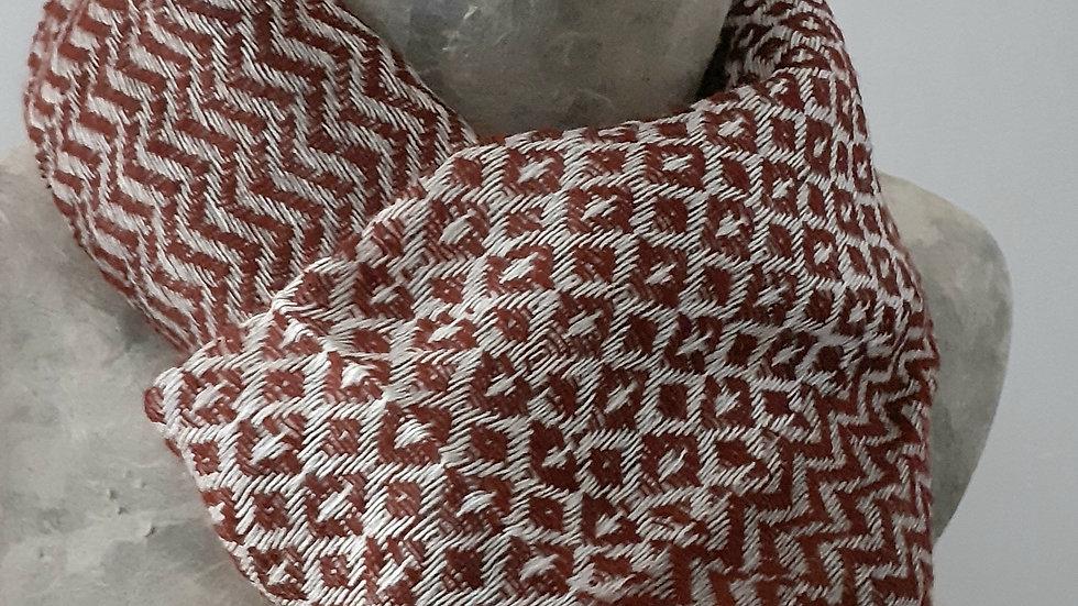 Bordeau  gris et texturée 90x200 CM