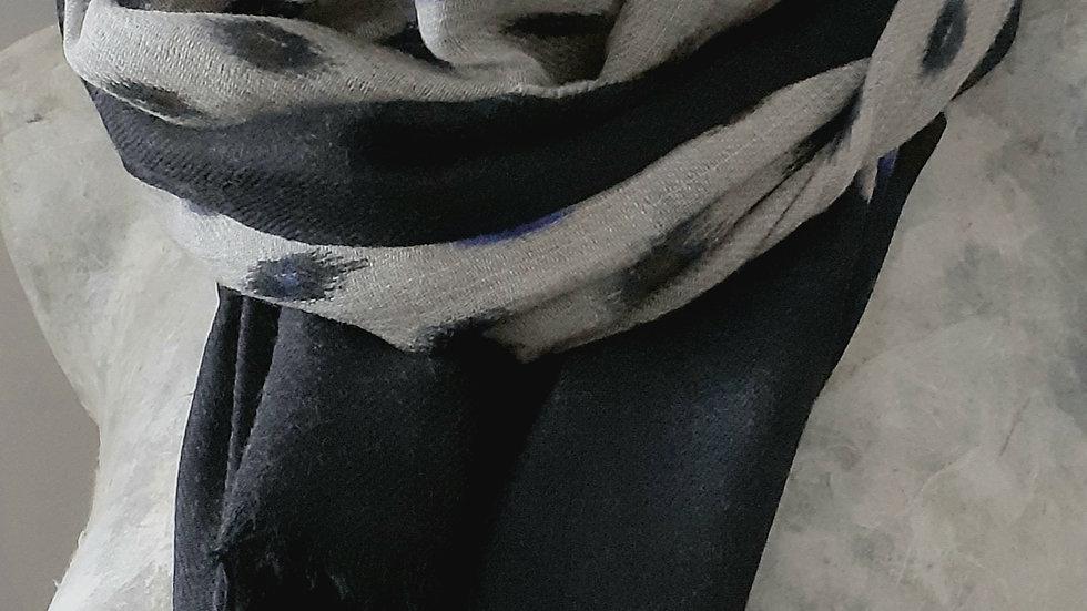 Gris au tissage coloré 90x200 CM