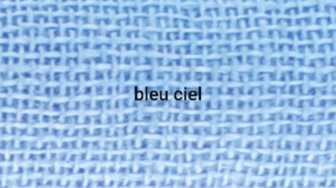 Bleu ciel uni 90x200 CM
