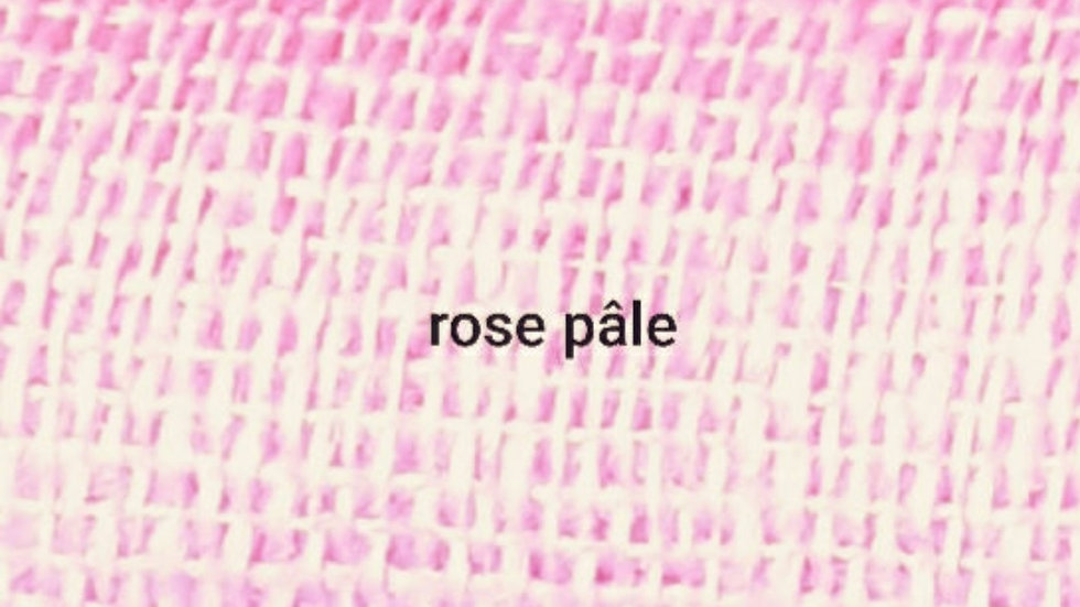 Rose pâle uni 90x200 CM