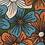 Thumbnail: Grandes fleurs graphiques vert orange