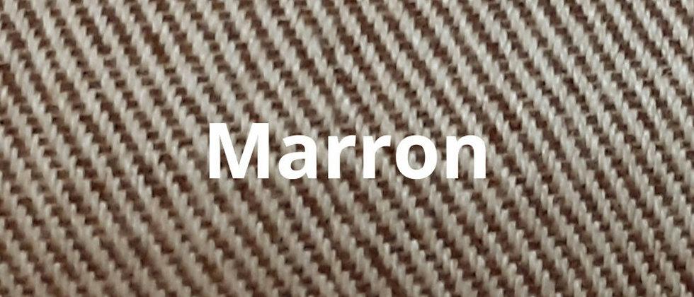 Couvre lit marron