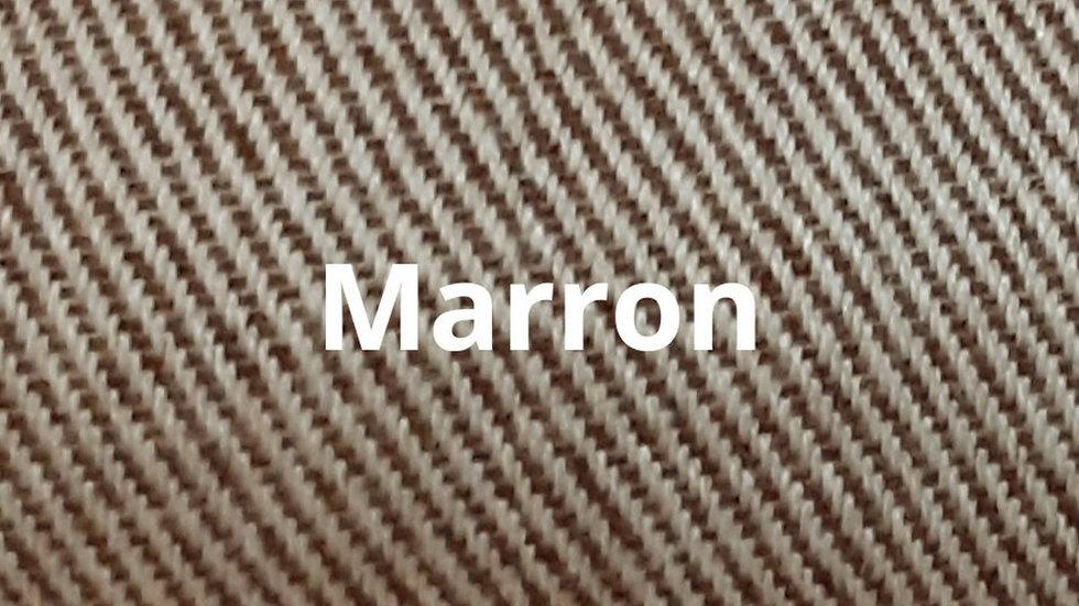 Couvre lit marron 230x250 cm