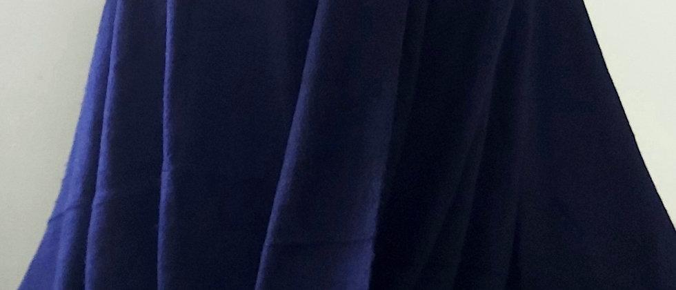 Plaid bleu losange