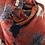 Thumbnail: Grandes pivoines rouge orange bleu