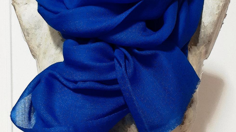 Etamine bleu roi 90x200 CM