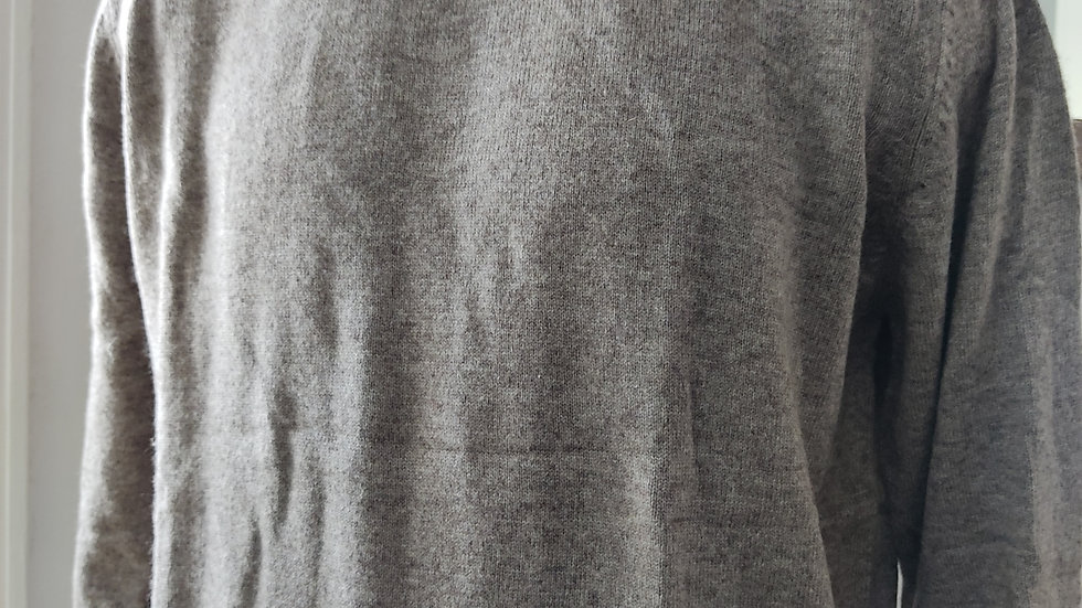 Pull taupe unisexe