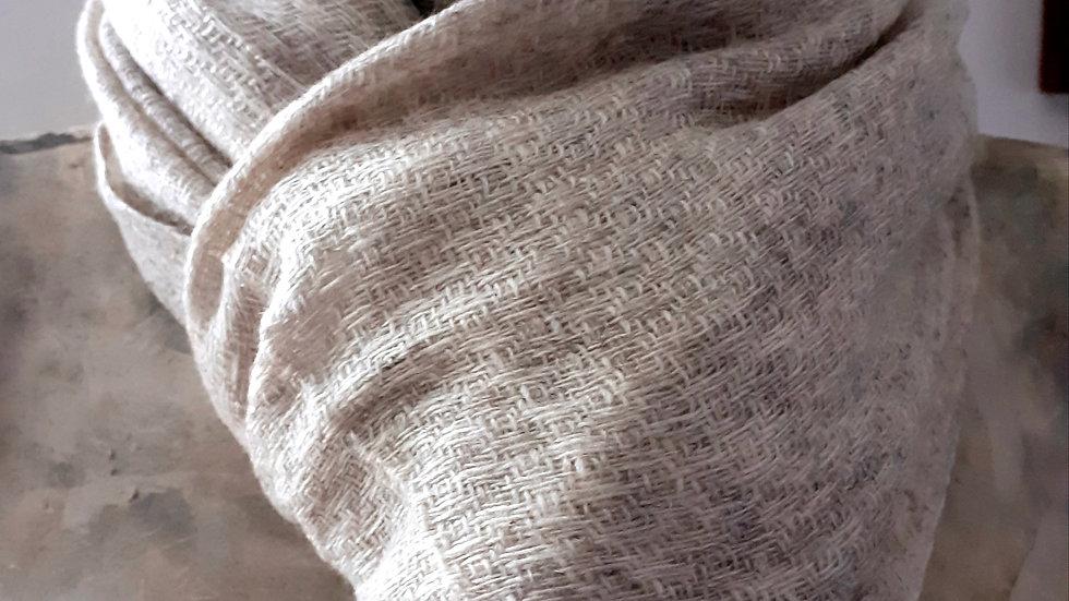 Taupe tres clair texturée 90x200 CM