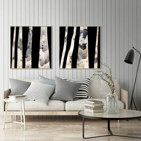 Katherine Boland_Spotted Gum Diptych #2.