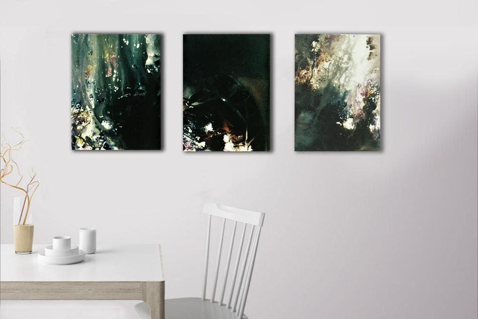 Below Triptych