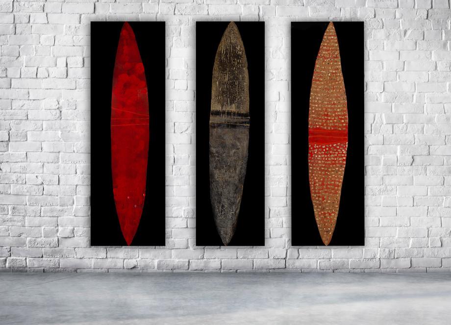 Shields Triptych