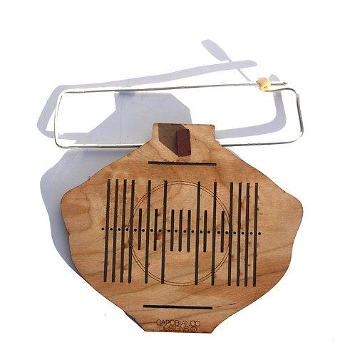 Coptic Lantern, Heddle Pin