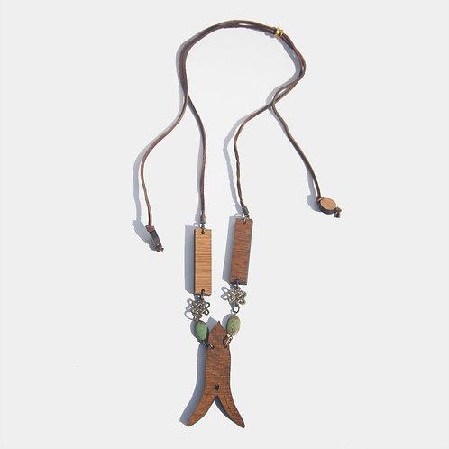 Bird Lucet adjustable necklace