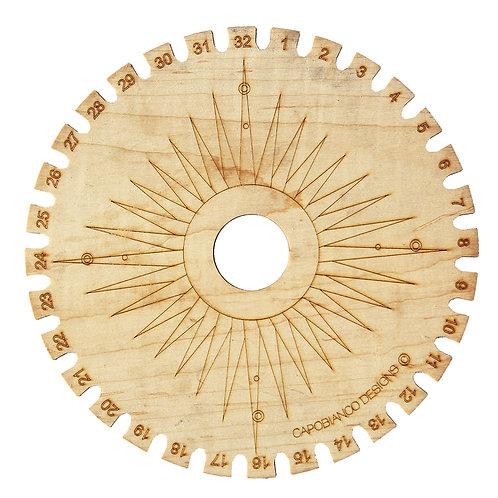 """11"""" Compass Kumihimo"""