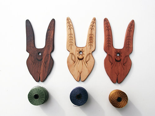 Medium Hybrid Lucet/ TasselMaker Rabbit Tool
