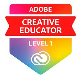 Adobe Creative Educator -ohjelman logo.p