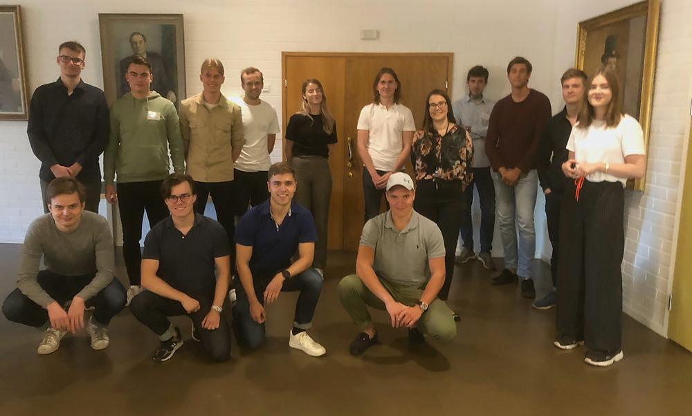 Aalto-yliopiston tekniset hostit EFA-tapahtumassa.