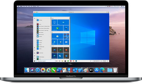 Parallels ohjelma Macissä
