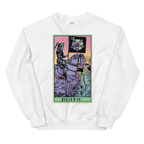 Death, Tarot Card, Witchy Sweater, Tarot Shirt, Halloween Sweater
