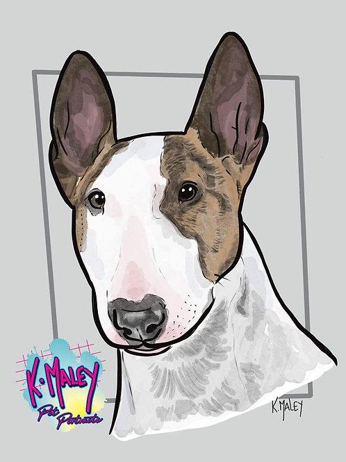 A4 Digital Pet Portrait