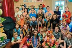 Middle School Choir Party