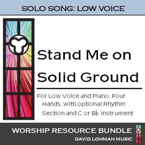 Stand Me on Solid Ground (low voice)
