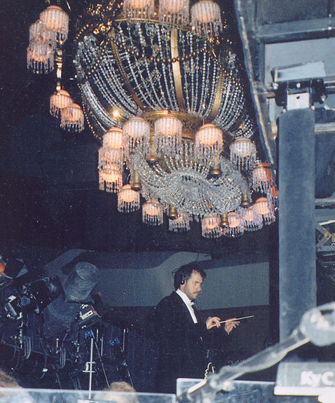 David Lohman conducting The Phantom of the Opera