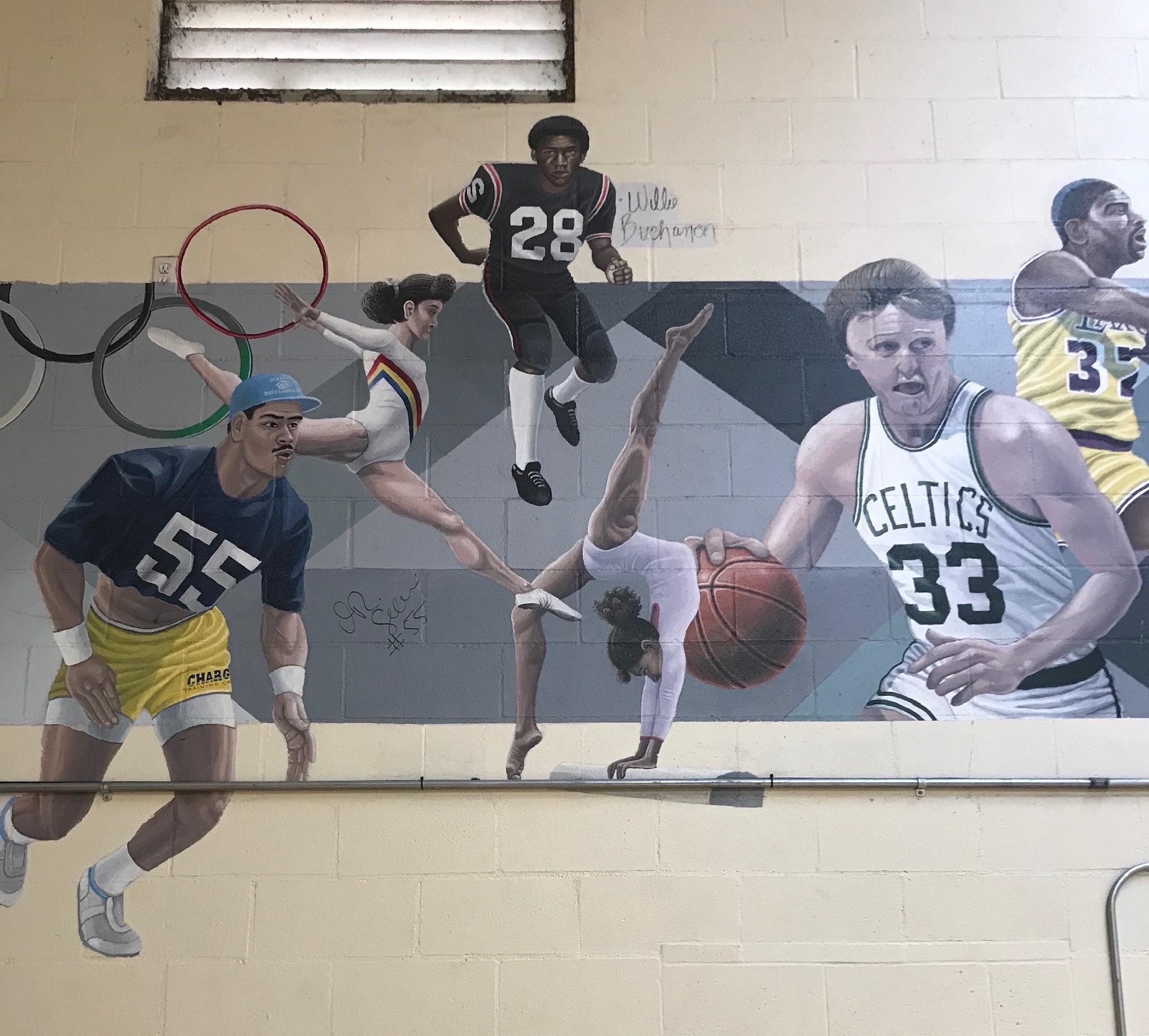 Mural - OBGC #2 (wall 3)