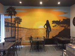 Mural - Pacific Poke Co. #2