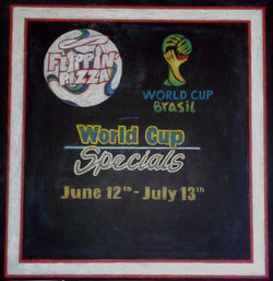 Flippin Pizza (World Cup Promo)