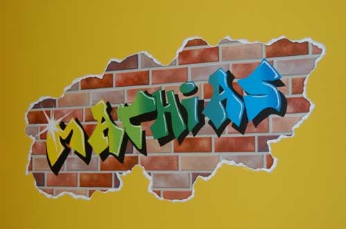 Mathias Graffiti Mural