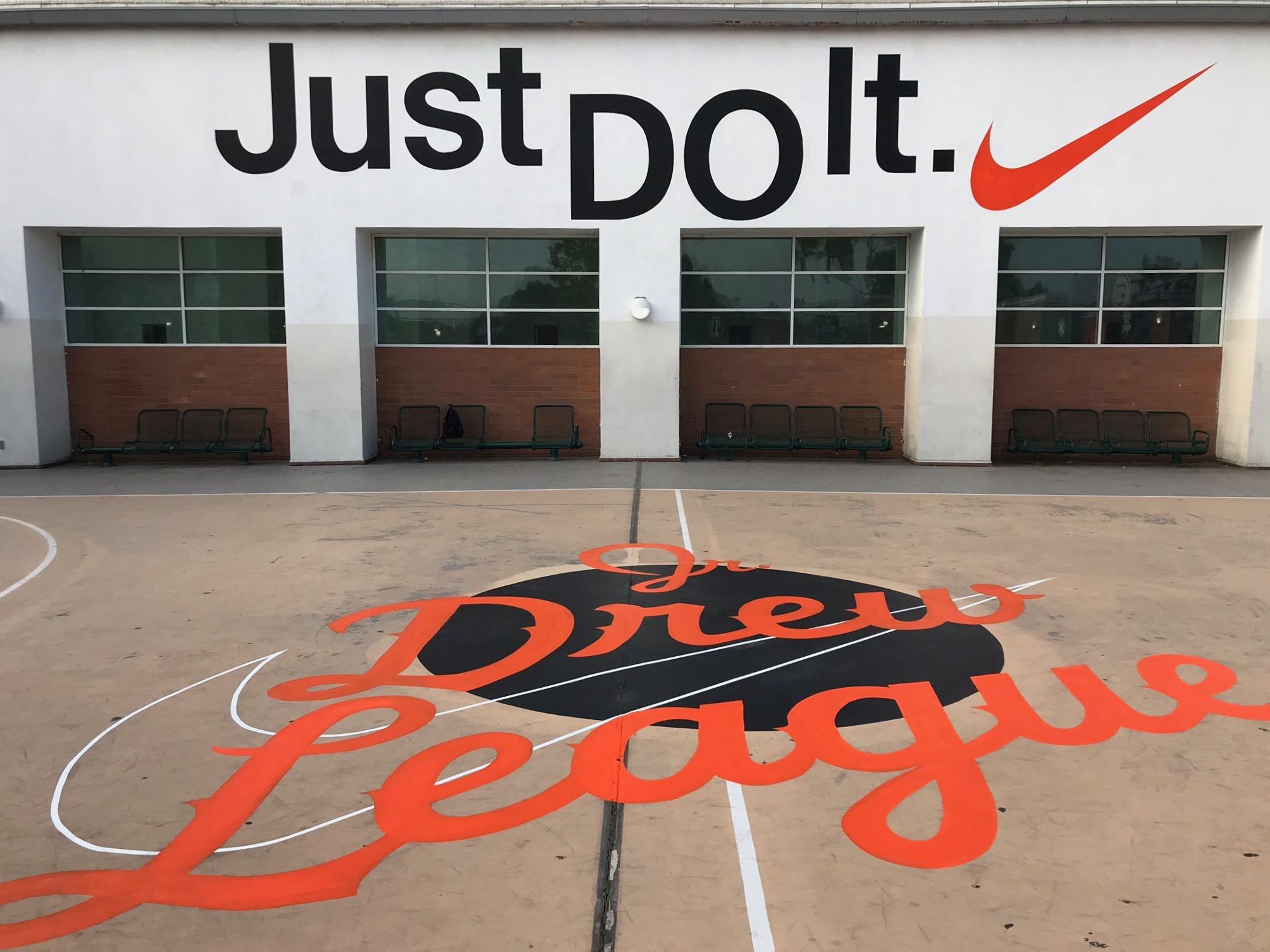 Mural - Drew League_Nike 2018