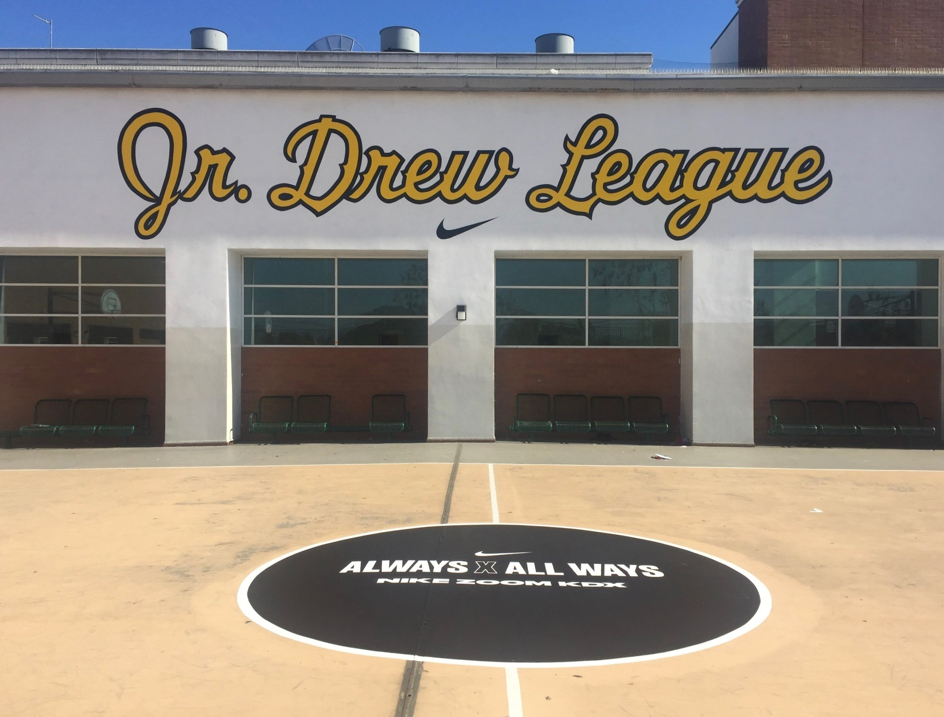 Mural - Jr. Drew League (2017)
