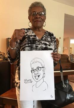 Caricature - Betty