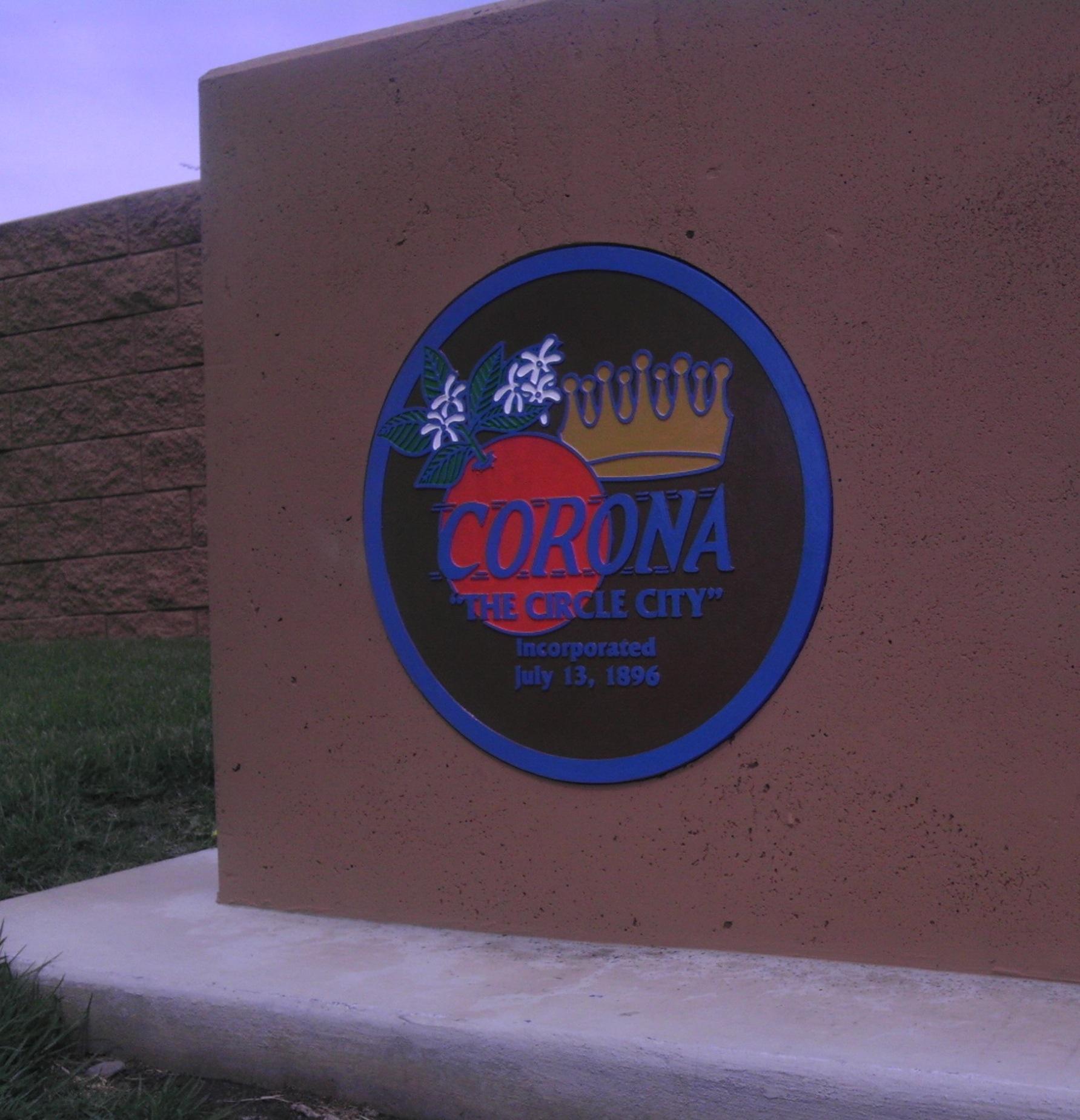 City of Corona's Seal/Logo
