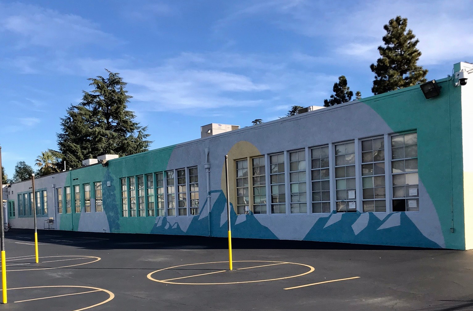 Mural - Palms Elementary School