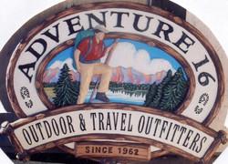 Adventure 16 Sign Restoration
