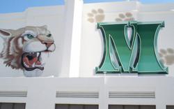 """Monrovia HS Mascot & """"M"""" Logo"""