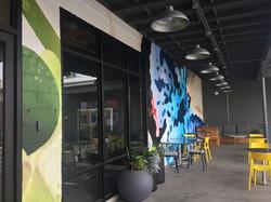 Mural - Bizhaus (patio area)