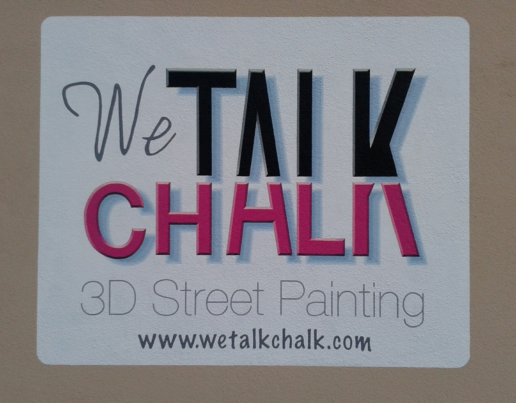 Sign_Logo - We Talk Chalk Signage