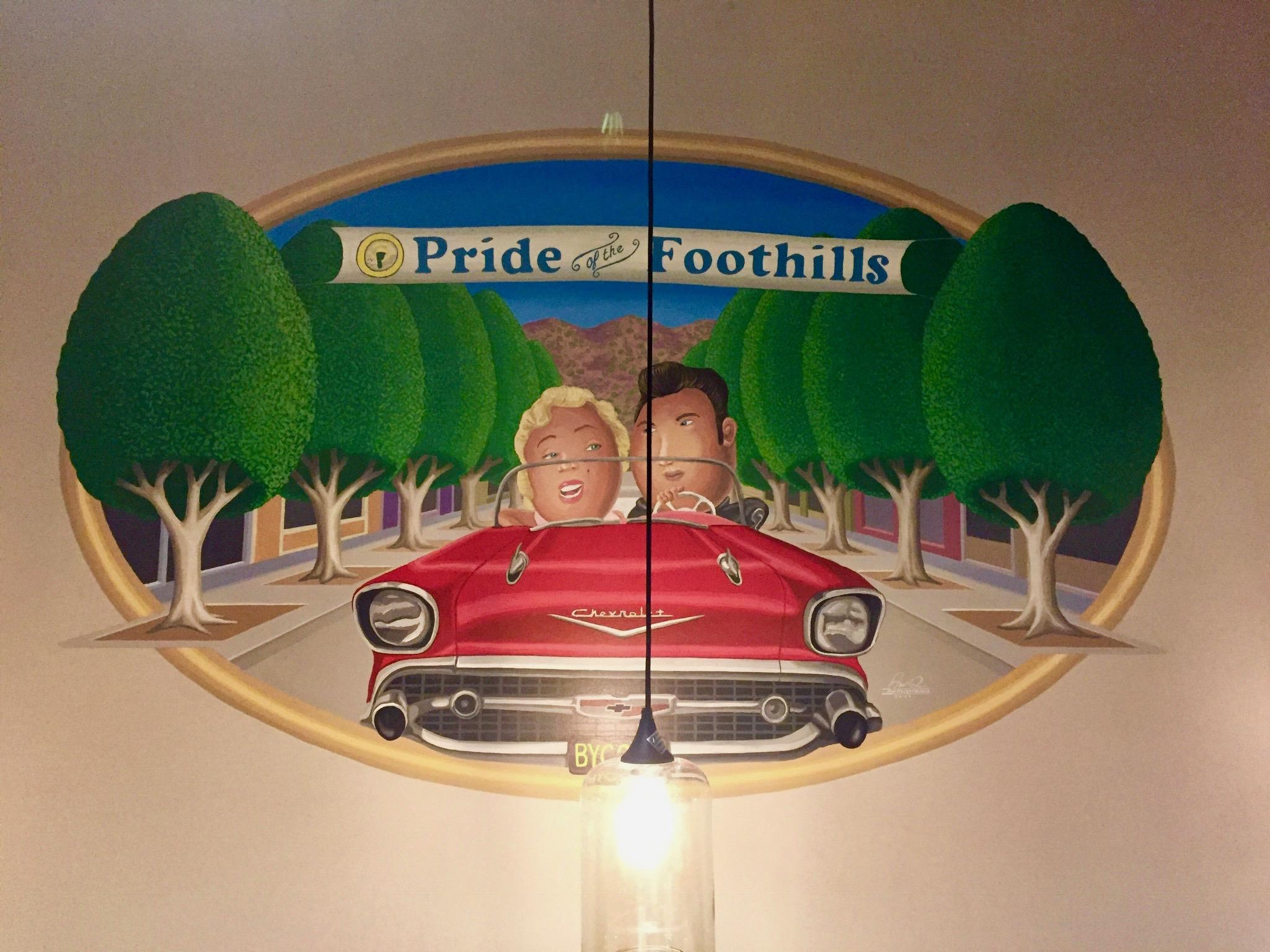 Mural - BYC Glendora #1